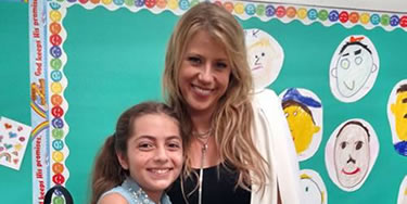 Gracie with Jodie Sweetin