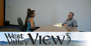 West Valley View newspaper interview